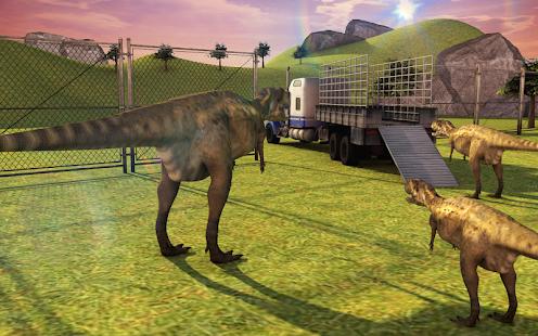 Jurassic World Dino Transport Truck: Dinosaur Game - náhled