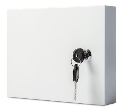 Skåp för manöverpanel inkl. lås Euro-locks B356