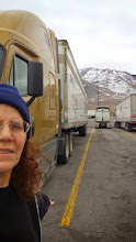 Photo: The truck, mountains and me