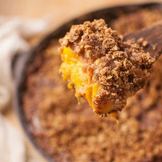 Peach Quinoa Crumble (Vegan, Gluten-Free) - Healthy Dessert Recipe Ideas