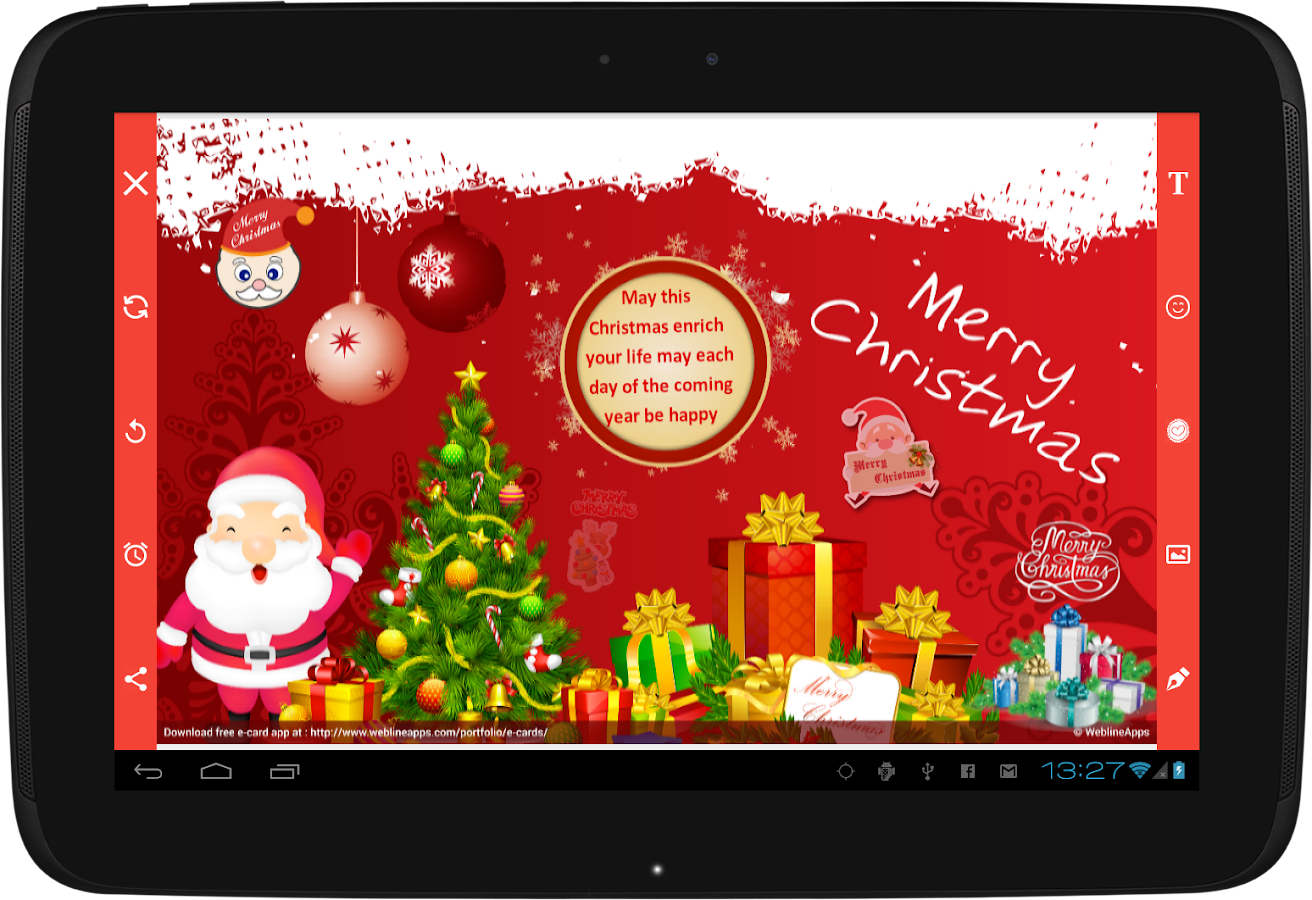 E-Cards- screenshot