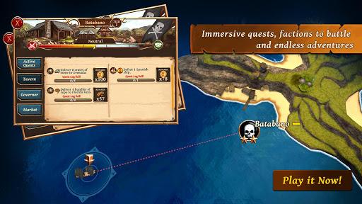 Ships of Battle: Ages of Pirates -Wars u2019n Strategy 2.4.1 screenshots 4