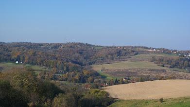 Photo: Widok na Jasień i wzgórze Granica