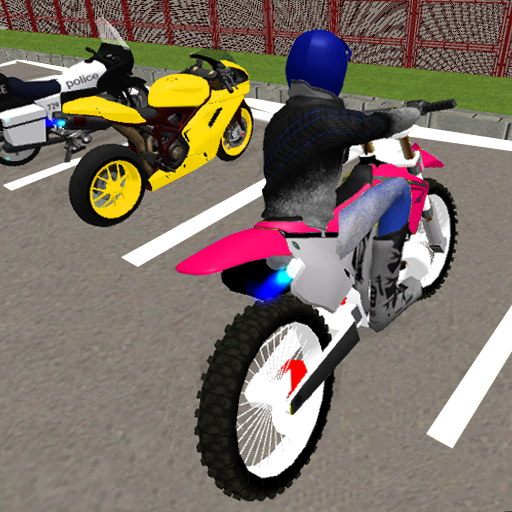 Bike Parking Game : Parking Simulator Bike Stunts