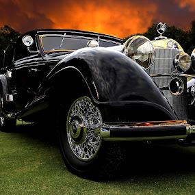 Escape by JEFFREY LORBER - Transportation Automobiles ( mercedes benz, classic car, lorberphoto, vintage car, rust 'n chrome, benz, mercedes, jeffrey lorber,  )
