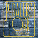 Logo for Pedalers Fork