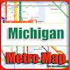 Michigan Metro Map Offline APK
