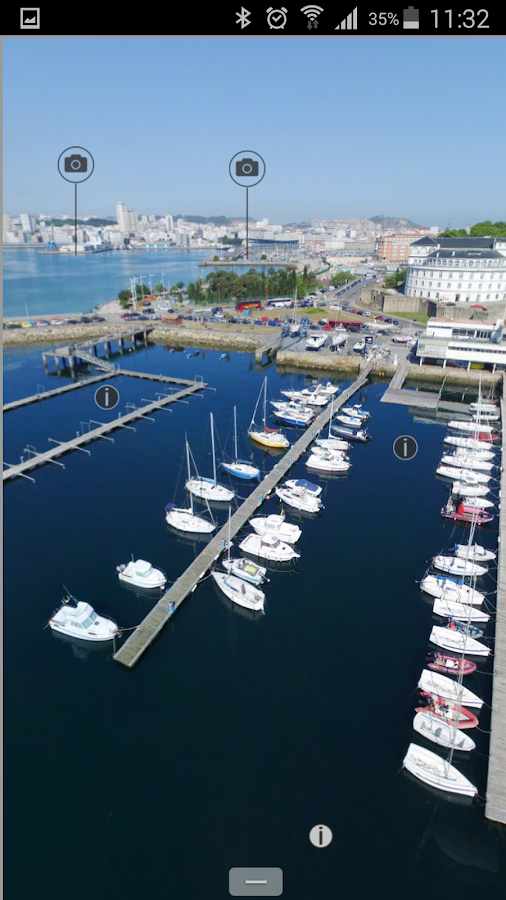 Virtual Tour Port of A Coruña- screenshot