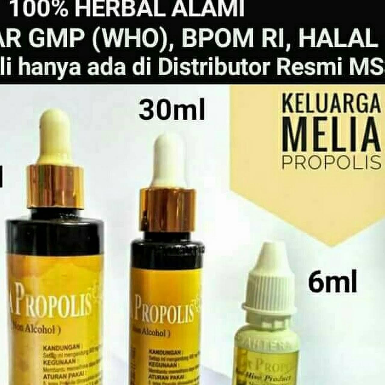 Melia Propolis Biyang Asli Original Toko Herbal