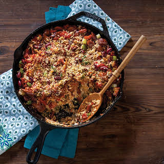 Conecuh Red Beans and Rice Casserole.