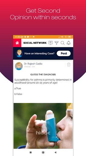 Hidoc Dr. - Medical Learning App for Doctors screenshot 4