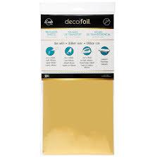 Thermoweb Deco Foil Transfer Sheet 6X12 20/Pkg - Gold