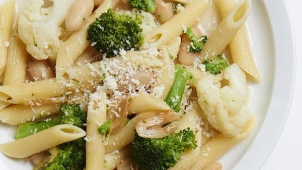 Pasta With Broccoli And Cauliflower Recipe