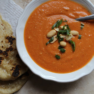 Sweet and Spicy African Peanut Soup