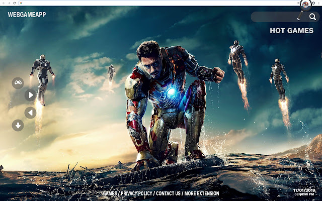 Iron Man Wallpapers New Tab Background