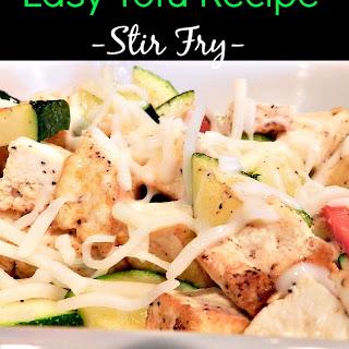 Easy Tofu.