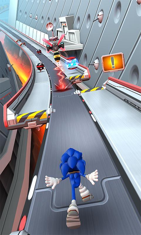 Screenshot 1 Sonic Dash 2: Sonic Boom 1.8.0 APK MOD