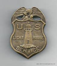 Photo: United States Light House Service, Badge (Merged with the United States Coast Guard)
