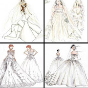 Design of Bridal Gown