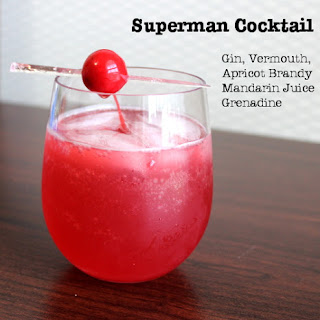 Superman Cocktail.