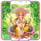 Free Lord Ganesha Mobile Theme