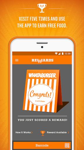 Whataburger screenshot