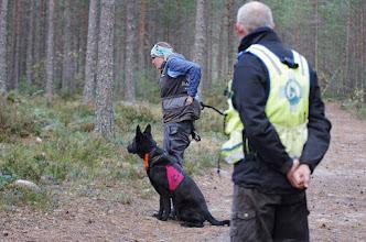 Photo: Aina og Ulvehiets Back in Black (Vilma) er klare til å rundere.