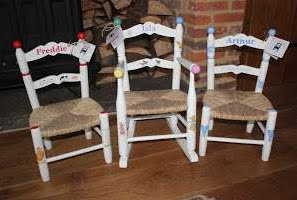 Hand Crafted Children's Chairs