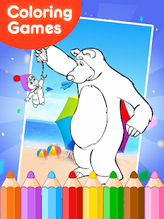 Coloring Book Games for Masha  Android Apps on Google Play