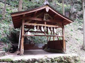龍鎮神社の拝殿
