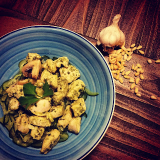 Coriander Pesto Chicken