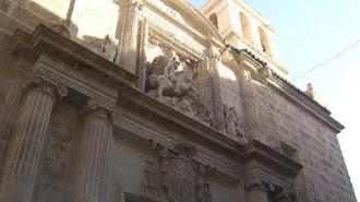 La iglesia de Santiago, en una imagen de archivo.