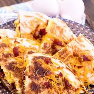 Bacon, Egg & Cheese Quesadillas