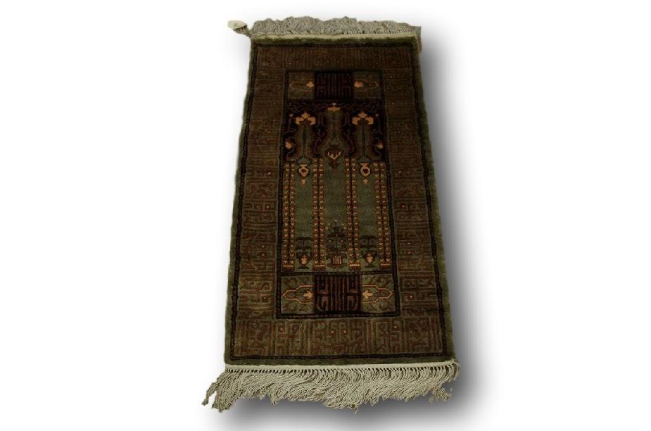 dywan jedwabny z chin (naturalny jedwab) modlitewnik