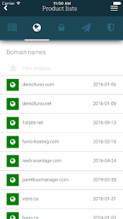Funio: Web Hosting Made Easy- screenshot thumbnail