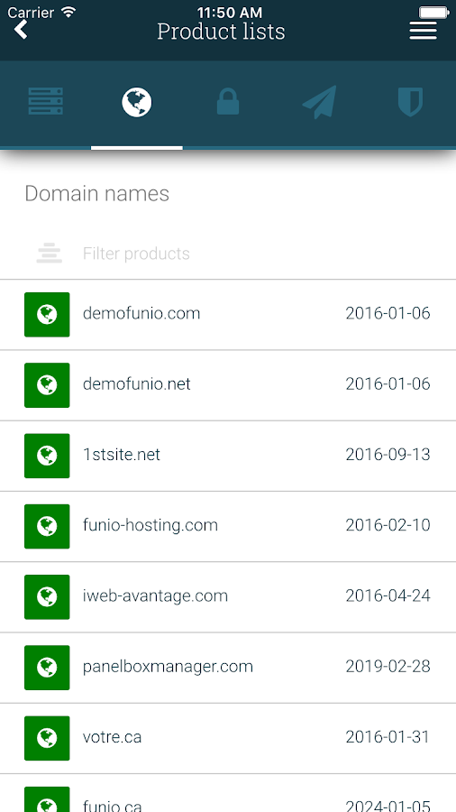 Funio: Web Hosting Made Easy- screenshot