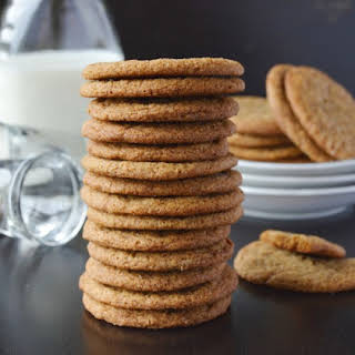 Chewy Molasses Cookies.