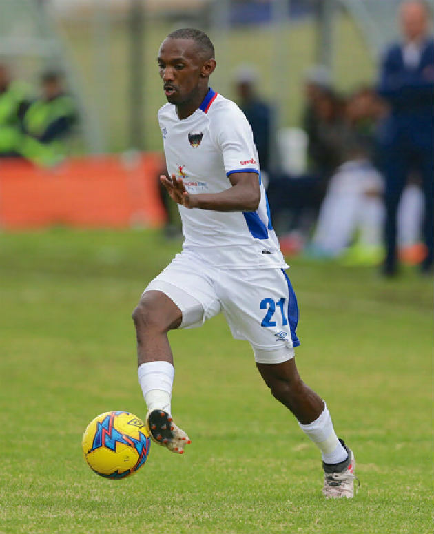 Thabo Rakhale of Chippa United during the Absa Premiership match between Chippa United and Free State Stars at Sisa Dukashe Stadium on March 17, 2018 in East London, South Africa