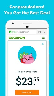 Piggy - Coupons and Cash Back- screenshot thumbnail