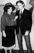 Photo: 6.02.1971 - bal maskowy, G. Łukasz z prawej