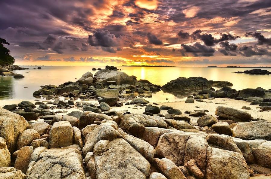 The Rock's Island by Irwansyah St - Landscapes Sunsets & Sunrises