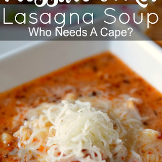 Pressure Cooker Lasagna Soup.