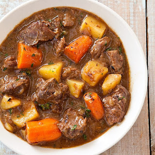 Slow Cooker Beef Stew Busy Day.