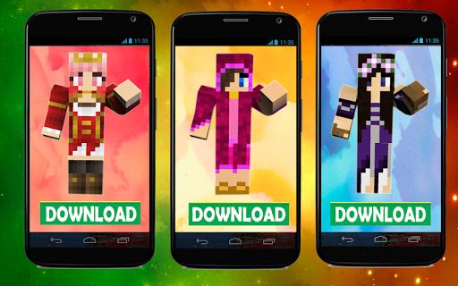 Skins Princesses for Minecraft