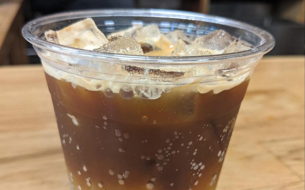 prepared espresso tonic