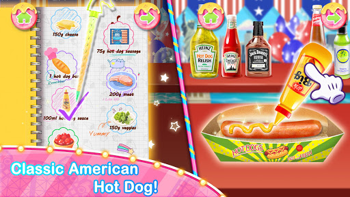 Unicorn Chef Carnival Fair Food: Games for Girls 1.6 screenshots 9