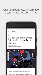 NYTimes en Español Screenshot