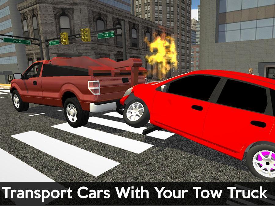 Car Parking Games Tow Truck