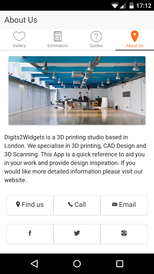 The 3D Printing Companion- screenshot