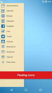 Floating Apps Free (multitasking) Screenshot